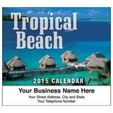 Mini Calendar Tropical Beach-2017