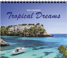 Tropical Dreams 3 Mont View Promotional Calendar 2017