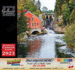 Scenes of Canada (English/French) Calendar 2018