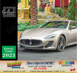 Exotic Cars Value Calendar Stapled - 2018