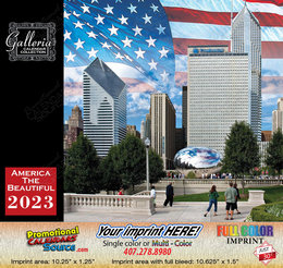 America the Beautiful Calendar 2017
