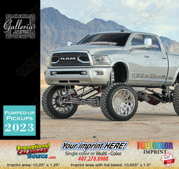Pumped-Up Pickup Trucks Calendar 2018
