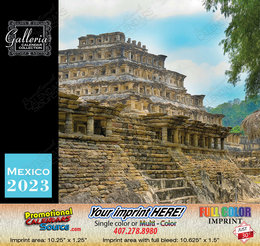 Scenic Mexico Bilingual Spanish/English Calendar 2018