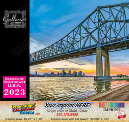 Scenes of South East USA Calendar 2017