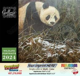 Wildlife Portraits Art Calendar 2018