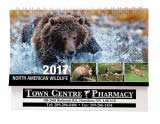 North America Wildlife Desk Calendar 2018