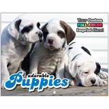 Puppies Promotional Mini Calendar