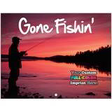 Gone Fishing Promotional Mini Calendar