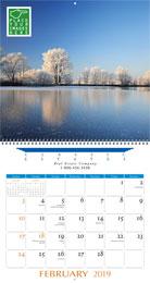 Executive Full Custom Calendar 13.5x25.5
