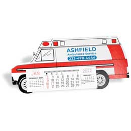 Ambulance Desk Calendar