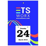 Daily Date Calendar XX-Large Pad 44 - 7x11