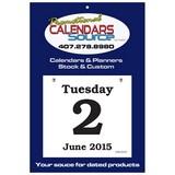 Daily Date Calendar XX-Large Date Pad 6x5.5 in
