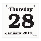 Daily Date Calendar Refill 66