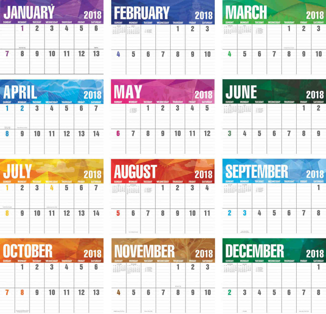 2017 Promotional Calendars