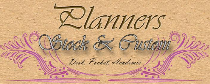 Promotional Planners: Pocket, Desk, Monthly, Weekly, Academic,....