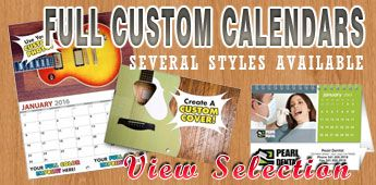 Custom Commercial Multi-Month View Calendars