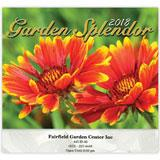 Flowers, Gardens, Botanical calendars for e pleasant and colorful promotion.